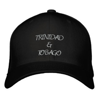 Trinidad & Tobago Embroidered Hat