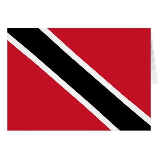 Trinidad & Tobago Flag Greeting Cards