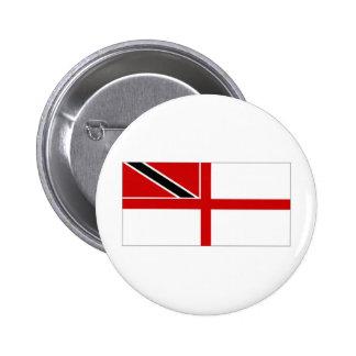 Trinidad Tobago Naval Ensign 6 Cm Round Badge