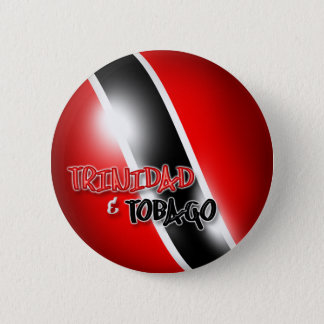 Trinidad & Tobago Patriotic Button
