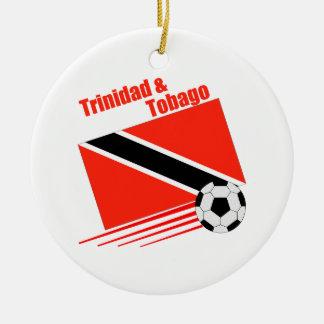 Trinidad & Tobago Soccer Team Ceramic Ornament