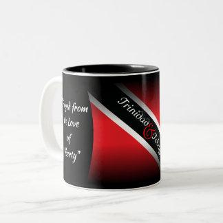 Trinidad & Tobago Two-Tone Coffee Mug