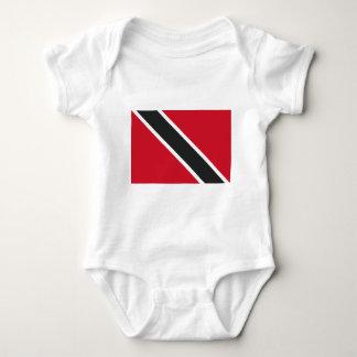 Trinidadtobago flag baby bodysuit