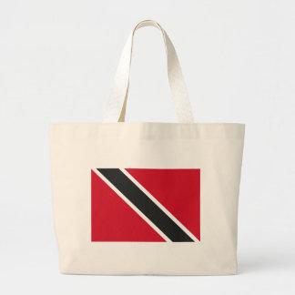 Trinidadtobago flag large tote bag