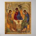 Trinity Angels At Mamre Poster