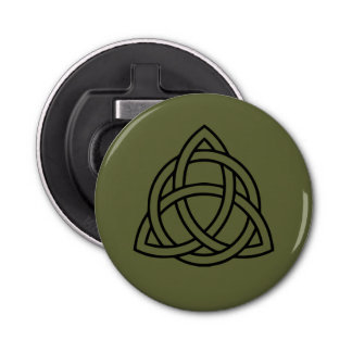 Trinity Celtic Knot Bottle Opener Fridge Magnet