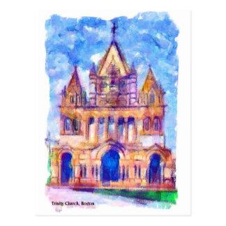 Trinity Church Boston Post Card