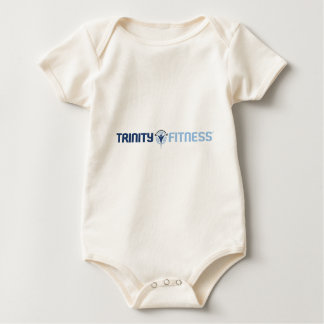 Trinity Fitness Logo Long Baby Bodysuit