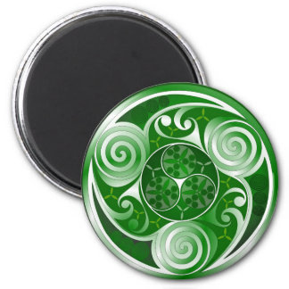 Trinity Glas 6 Cm Round Magnet