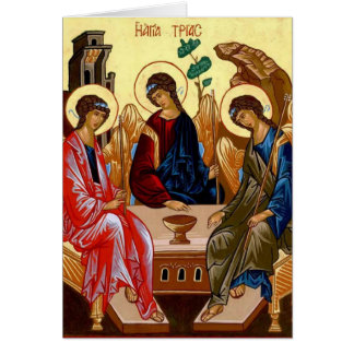 Trinity Icon Greeting Cards