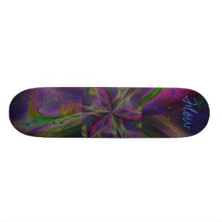 Trinity Rainbow Flow Custom Skateboard