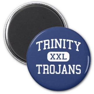 Trinity - Trojans - High - Garfield Heights Ohio Magnet