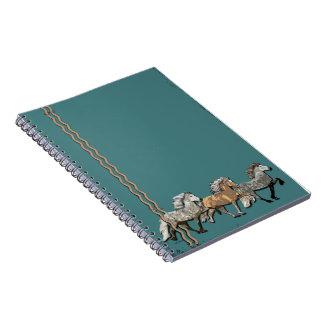 Trio in Tolt Notebooks