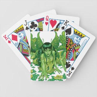 Trio of Earth Fairies or Elves by Al Rio Poker Deck