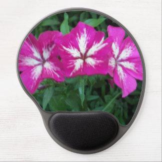 Trio of Hot Pink Phlox Gel Mouse Pad