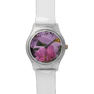 Trio of Pink Cosmos Watch