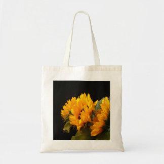 Trio of Sunflowers Budget Tote Bag