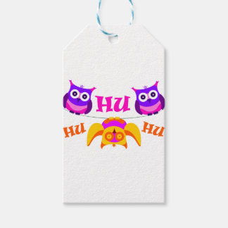 Triolium - owl party gift tags