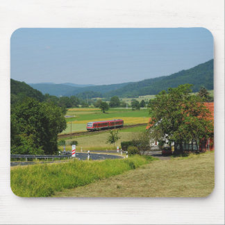 Trip by the upper Lahn valley with nuclear brook Mouse Pad
