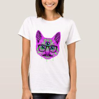 Trip Cat Pink T-Shirt