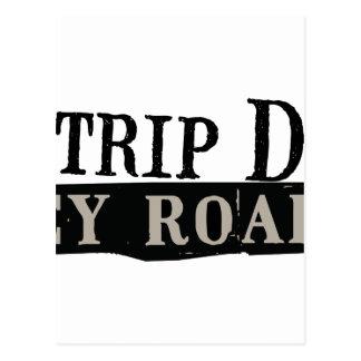 Trip Down Abbey Road Postcard