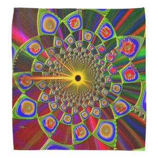 Trip In Psychedelic 3d Optics Bandana