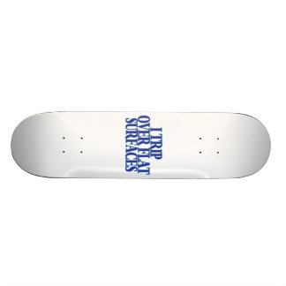 Trip Over Flat Surfaces 21.6 Cm Old School Skateboard Deck