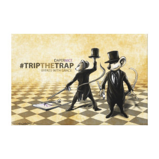 Trip The Trap - Bassmice WallPrint Canvas Print