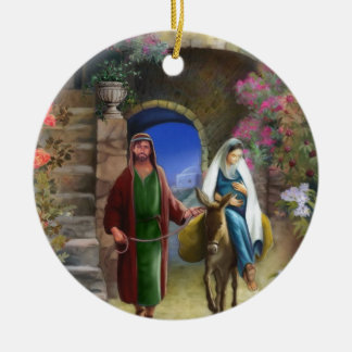 Trip to Bethlehem Double sided ornament