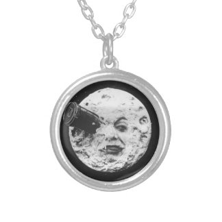 TRIP TO THE LUNA SILVER PLATED NECKLACE