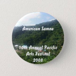 triparoundtown 100, American Samoa10th Annual P... 6 Cm Round Badge