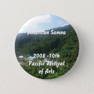 triparoundtown 100, American Samoa... - Customised 6 Cm Round Badge
