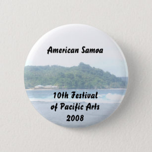 triparoundtown 130, American Samoa... - Customised 6 Cm Round Badge