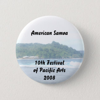 triparoundtown 130, American Samoa... - Customized 6 Cm Round Badge
