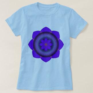 Tripartite 80 Petal Purple Lotus T-Shirt
