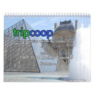 TripCoop France Calendar