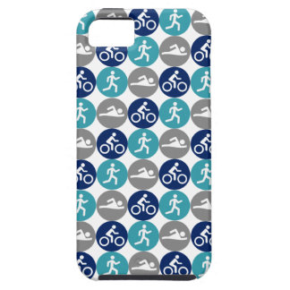 TriPhone (teal/navy/grey) iPhone 5 Case
