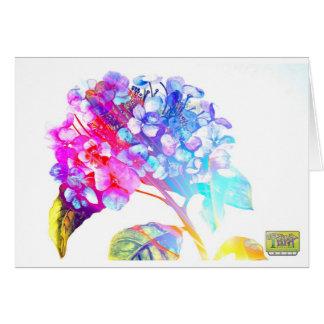 Tripix Design 0022 - A Peaceful Offering Greeting Card