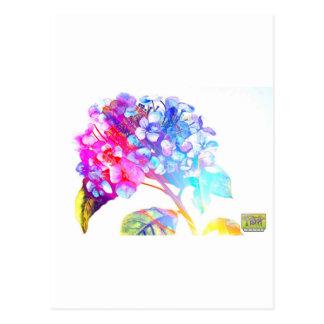 Tripix Design 0022 - A Peaceful Offering Postcard