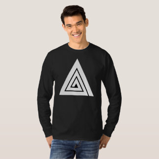 Triple A Black Long Sleeve T-Shirt