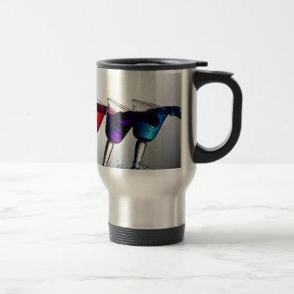 Triple Cocktail Spill Stainless Steel Travel Mug