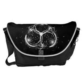 Triple Crescent Moons Courier Bags