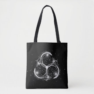Triple Crescent Moons Tote Bag
