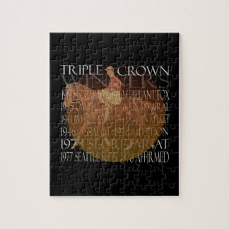 Triple Crown Winners Gifts & Party Supplies Jigsaw Puzzle