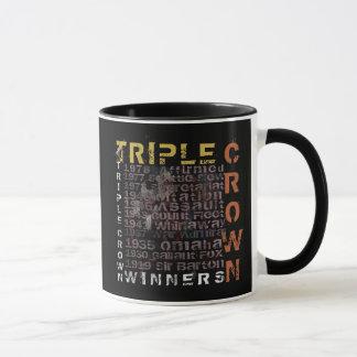 Triple Crown Winners Horse Racing Mug