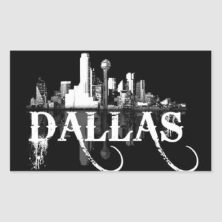 Triple D (Dallas, Texas) Rectangular Sticker