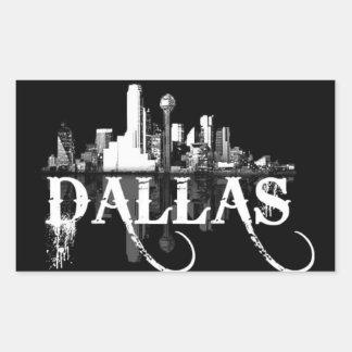 Triple D (Dallas, Texas) Rectangular Sticker