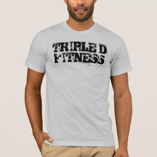 TRIPLE D FITNESS gray t T-Shirt
