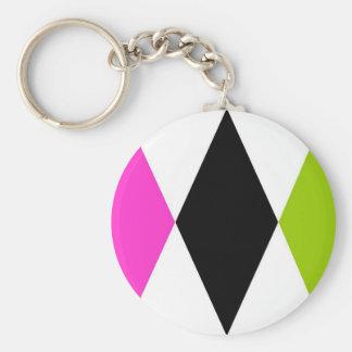 Triple Diamond Keychains