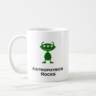 Triple Eye Astrophysics Rocks green Coffee Mug